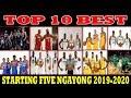 TOP 10 BEST STARTING FIVE Ngayong 2019 2020 NBA SEASON INILABAS NA