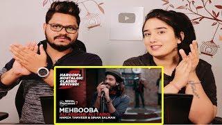 Indian Reaction On Mehbooba ft. Ali Asghar, Ali Tariq, Hamza Tanveer ¦ NESCAFÉ Basement Season 5