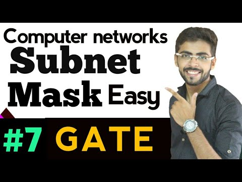 Subnet Mask | Subnet Mask in hindi | Subnet Mask calculation in hindi | Computer Network lectures #7