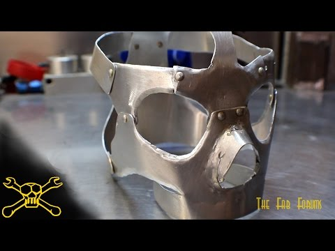 Sheet Metal Skull   Mask Fabrication