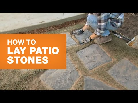 How To Install Patio Stones