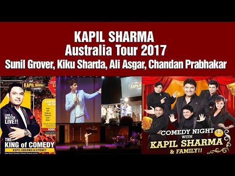 Australia Tour. Kapil sharma BRINGS SMILE TO EACH FACE #KapilSharma and Team in #Sydney #Australia.