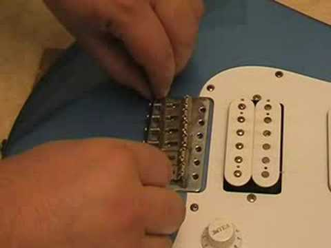 Take apart and clean an electric guitar. (Dismantle Disassem