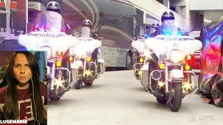 WWE Smackdown 5/23/17 Jinder Mahal Grand Entrance with Police Escort