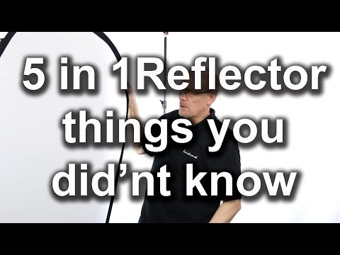 5 in 1 Reflector  things you didn't know