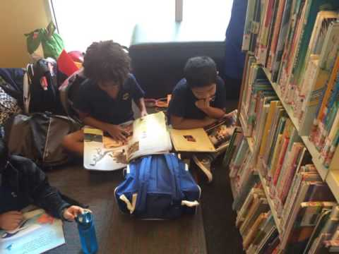 Trip to the Bukit Merah Library
