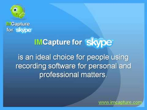Record Skype Video and Audio - IMCapture for Skype (Mac OS X)