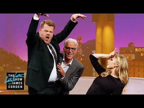 Ted Danson, Natalie Dormer & James Strike a Pose
