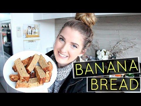 HEALTHY BANANA BREAD | No Refined Sugars, Butter Or Oil!