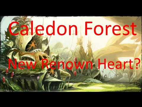 Guild Wars 2 - New Renown Heart in Caledon Forest