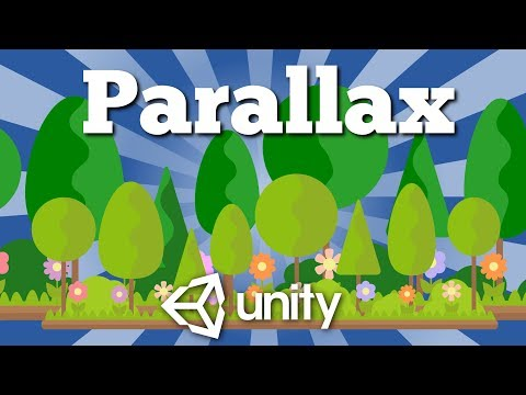 Another way how to create simple Parallax Scrolling Background effect in Unity game. Easy tutorial.