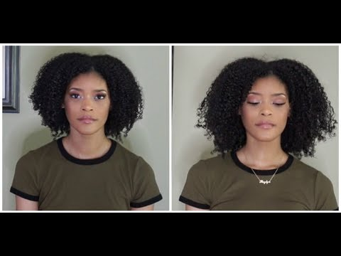Stretching Natural Hair | without heat or banding method