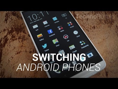 Switching Android Phones