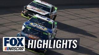 Playoff Race #6 — Kansas   NASCAR on FOX HIGHLIGHTS