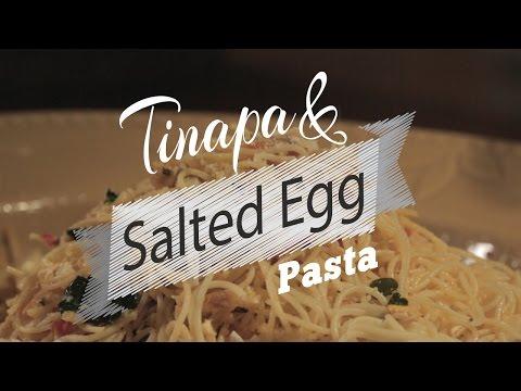 Tinapa Salted Egg Pasta