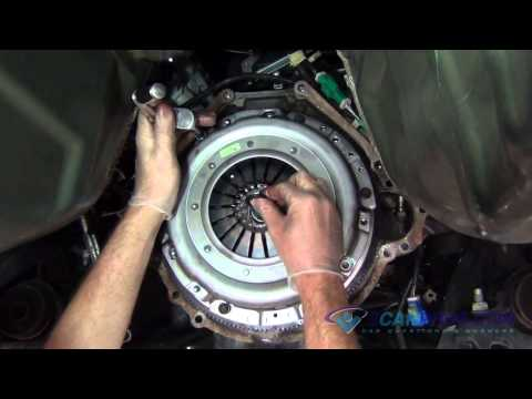 Clutch, Flywheel, Rear Main Seal, & Throw Out Bearing Replacement Ford Mustang 2005-2009