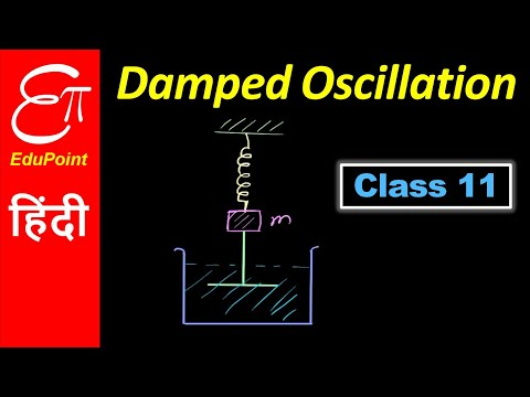 DAMPED OSCILLATION || in HINDI for Class 11
