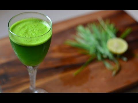 Wheat Grass Juice | Healthy Detoxifying Recipe @ Guru's Cooking