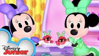 Feelin Crabby | Minnie's Bow-Toons | Disney Junior