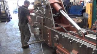 McIntyre 5025SB baler demonstration - copper scrap baling