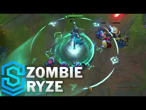 Zombie Ryze Skin Spotlight - Pre-Release - League of Legends