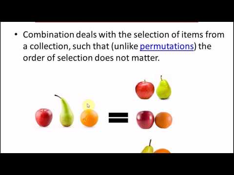 How to Solve Combination | Introduction to Combination