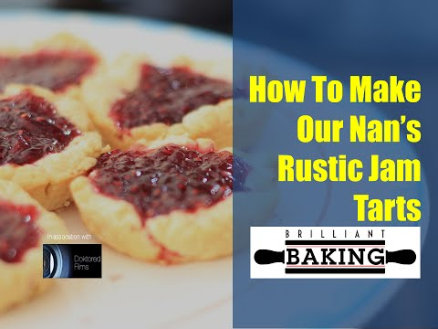 How To Make The Best Rustic Jam Tarts - The Brilliant Baking Show