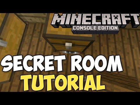 Minecraft Xbox & PS3: How to Make a Secret Room! | 100% Hidden!