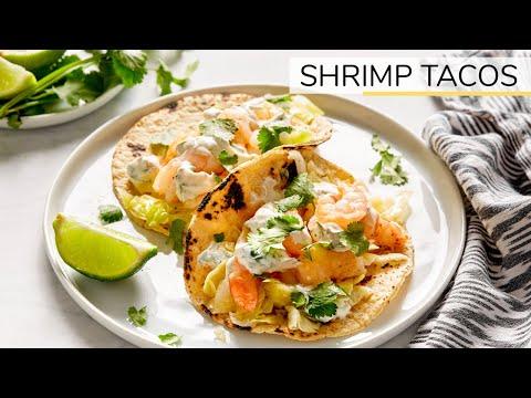 Clean Eating Shrimp Tacos