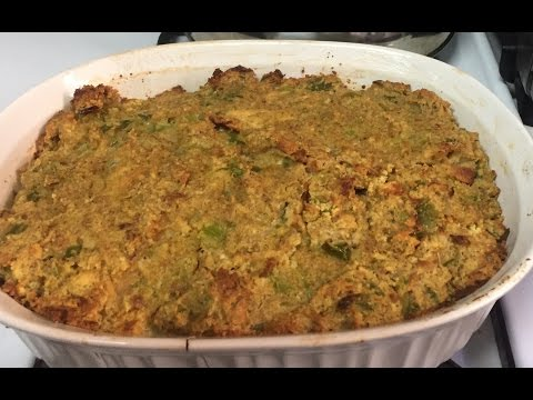 Holiday Southern Cornbread Dressing