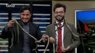 Download بامداد خوش - کاه فروشی - صحبت های علی رضا مارگیر در مورد مارها Video