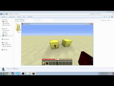 How to make a Redstone clock without Repeaters !