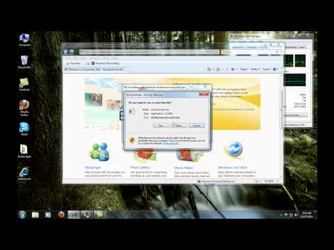 How To Install The Hidden WINDOWS 7 Client MAIL Part2