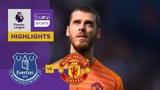 Everton 4-0 Manchester United Match Highlights