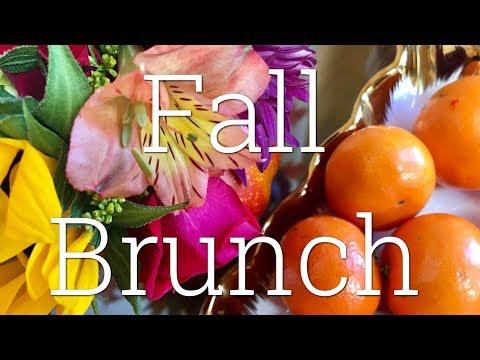 Fall Brunch Menu Ideas | Overnight Banana French Toast | Pumpkin Parfaits | Crockpot Baked Apples