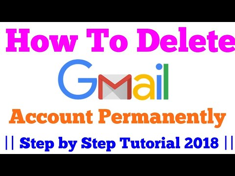 How To Delete Gmail Account  Permanently in Mobile/PC 2018 || Hindi Tutorial || Tech Bunch