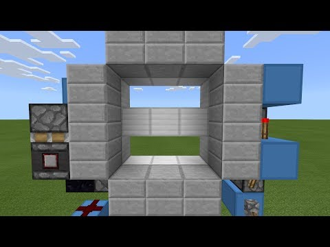 Minecraft PE: FIRST EVER SISSY BAR DOOR (PE/Xbox/Windows10/Switch)