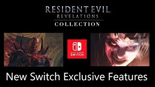 Resident Evil Revelations 1 & 2 On Nintendo Switch With New Features | Nov 28 Release Date