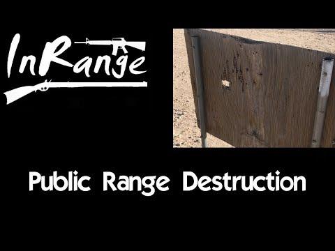 Public Land & Range Vandalism
