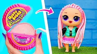 Download 14 Clever LOL Surprise Dolls Hacks And Crafts Video