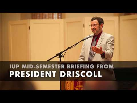 Spring 2018 Mid Semester Briefing by President Driscoll