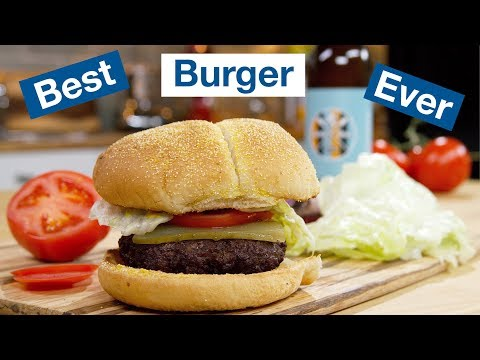Hamburgers on the Otto Wilde OFB Grill || Le Gourmet TV Recipes