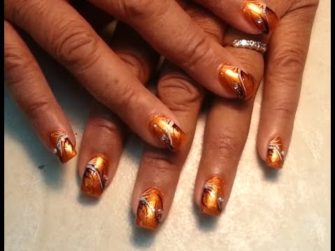How to Cut Down and Refill Acrylic Nail