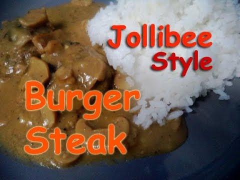 Burger Steak Jolibee Style Sauce