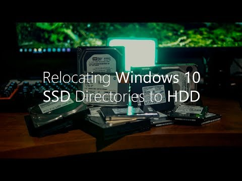 How to Relocate Windows 10 Directories from SSD to HDD