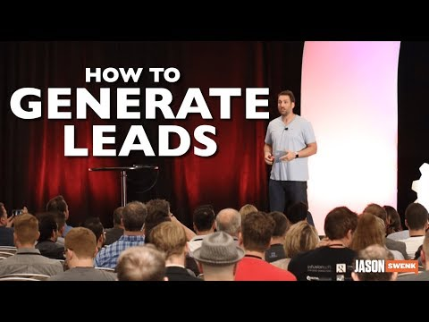 SPEAKING ON STAGE TO GENERATE LEADS & BUILD AUTHORITY IN YOUR NICHE