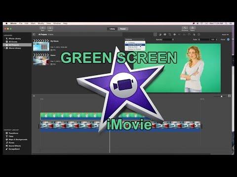 iMovie 10.0.6 Green Screen Tutorial