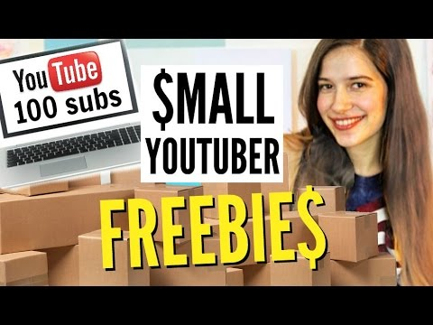 Small YouTuber Opportunities // How to Get Free Stuff