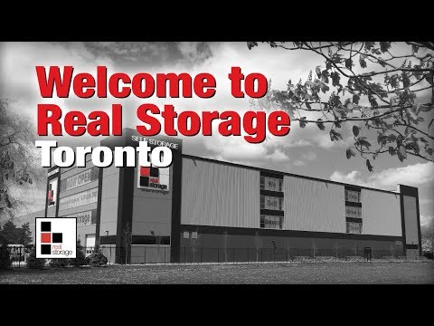 Real Storage Toronto - Real Storage, real easy!