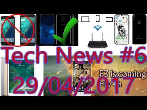 [हिंदी]Tech News #6- Google Pixel End, Note 8 Launch Date, Samsung No.1, Oppo F3......